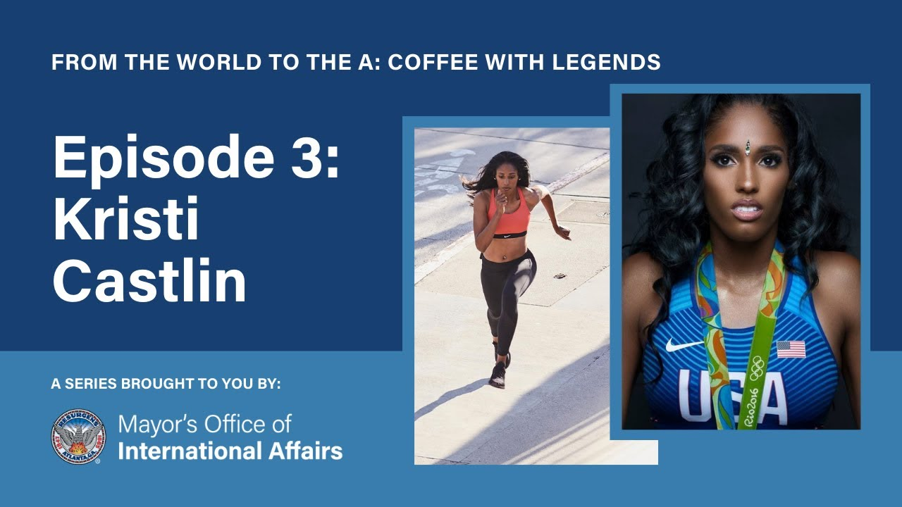 From the World to the A: Coffee with Legends – Kristi Castlin (Season 1, Episode 3)