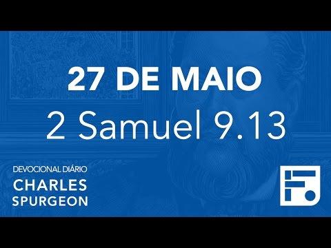 27 de maio - Devocional Diário CHARLES SPURGEON #148