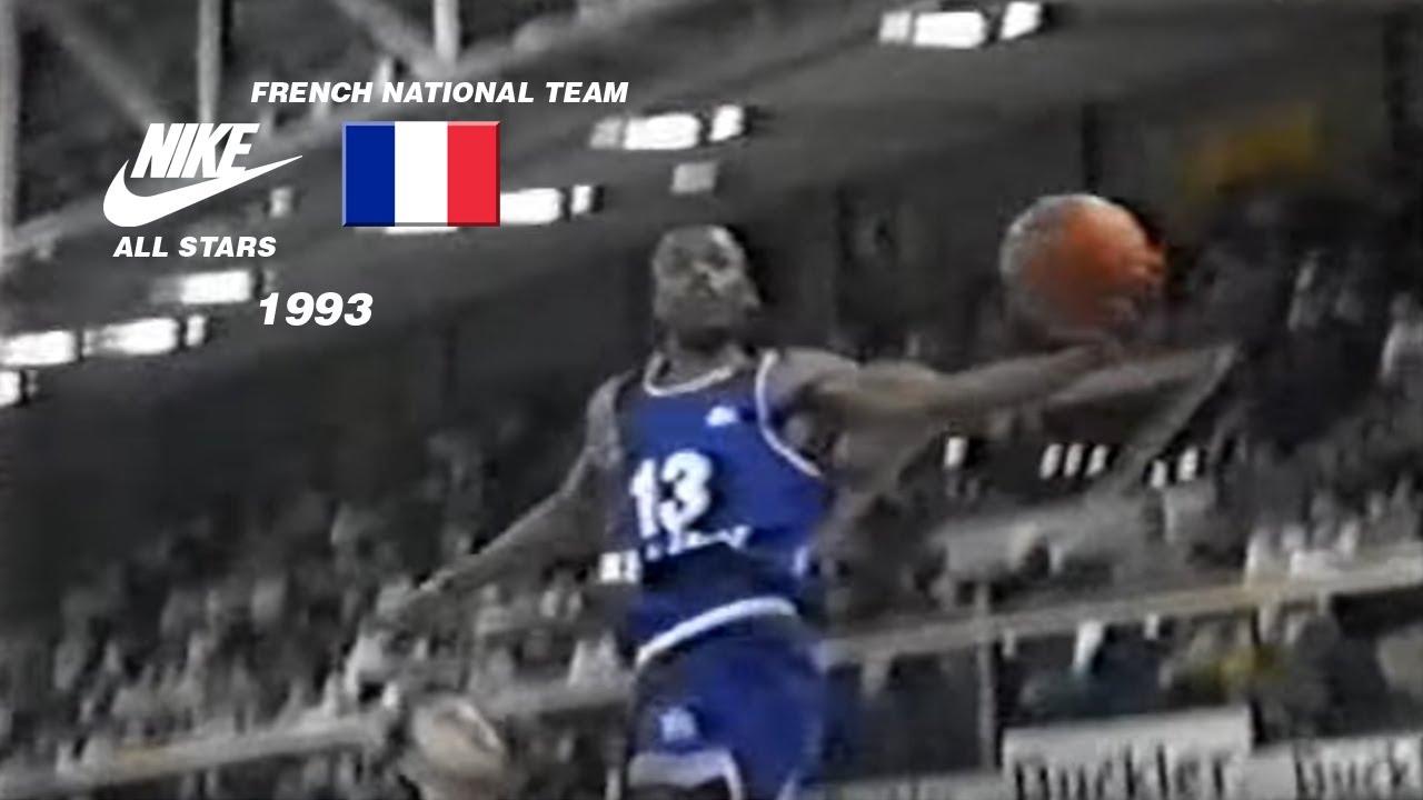 Nike All Stars vs French National Team 1993 - YouTube 0360e99829