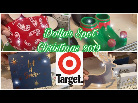 Target Christmas 2019|| Target Dollar Spot || Holiday Edition