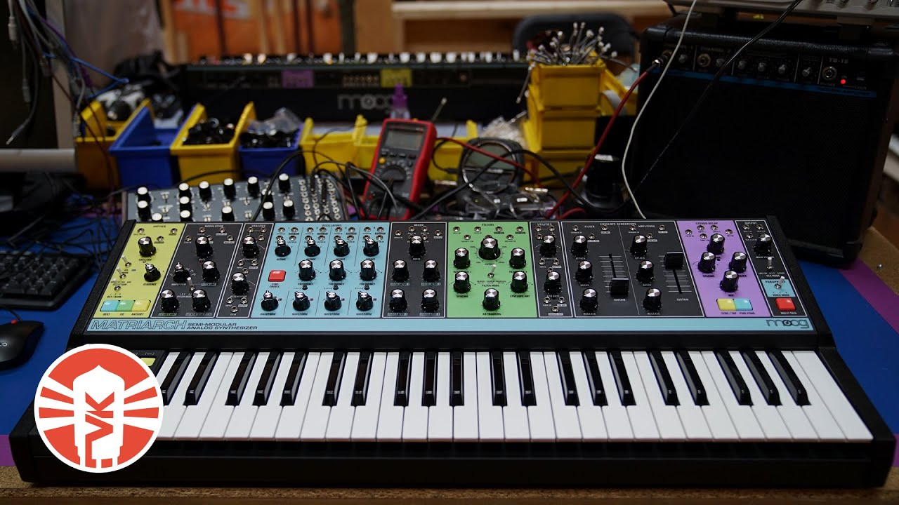 Moog Matriarch Semi-Modular Analog Synthesizer Review