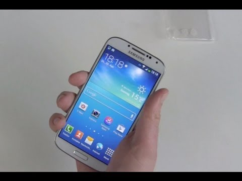 Samsung Galaxy S4 einrichten und erster Eindruck