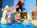 NEW Calico Critters Sylvanian Families Secret Island Playset Adventure Fun!