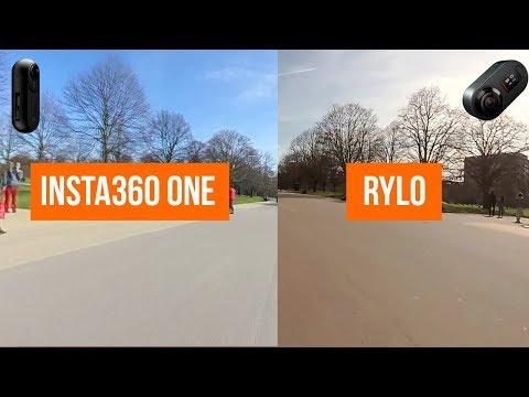 Insta360 ONE vs Rylo 2018: Stabilization, Software & Video Comparison