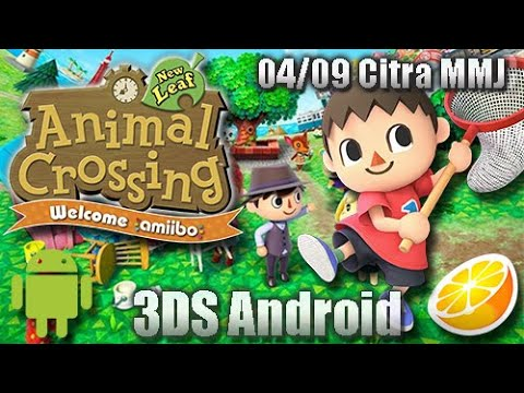 Animal Crossing New Leaf ANDROID | Citra MMJ 04/09 Build 3DS Emulator
