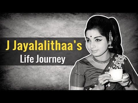 J Jayalalithaa's Life Journey