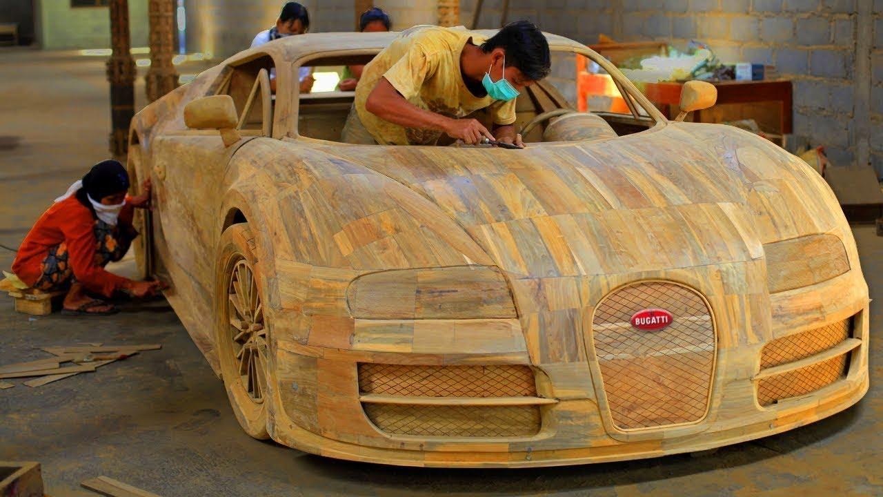 لن تصدق أن هذا الرجل أمضى 17 سنة لكي يصنع سيارة لامبورغيني بيديه في المنزل ,7 سيارات مصنوعة يدويا