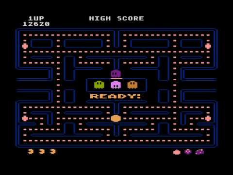 Atari XL/XE - Pac-Man [Atari] 1982