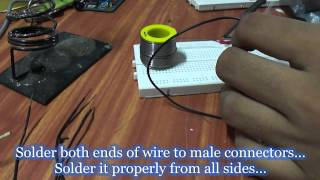 DIY : Male to Male Jumper Wires