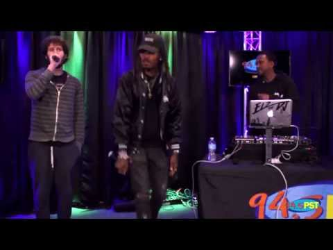 "Lil Dicky performs ""Professional Rapper"" in the PST Live Lounge"