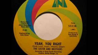 The Sister & Brothers-Yeah You Right(1969)