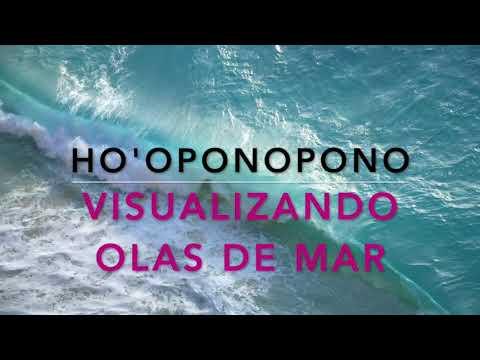 Olas De Mar Visualización Meditación Para Ser Un Lienzo En Blancosoy Luz Hooponopono