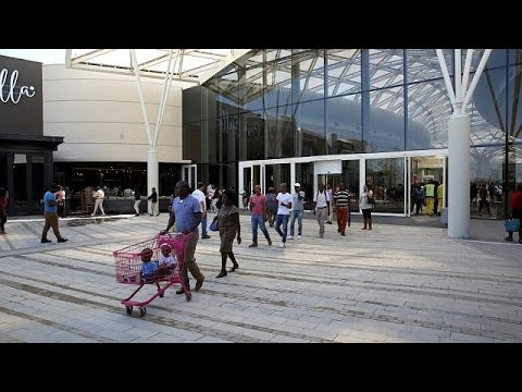'Mall of Africa': S. Africa's largest shopping center partia