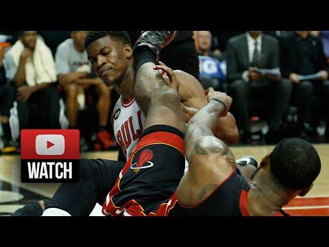 2014.03.09 - Jimmy Butler vs LeBron James Battle Highlights - Bulls vs Heat