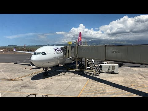 Full Tour Of Kahului Airport