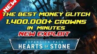 The witcher 3 hearts of stone: The best money glitch 1.400.000 Crowns in a few minutes