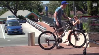 Identical Bike Thief Prank