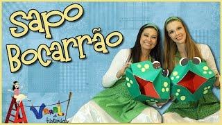 Sapo Bocarrão - Varal de Histórias