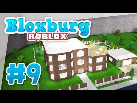 Bloxburg #9 - THIRD FLOOR MANSION (Roblox Welcome to Bloxburg)