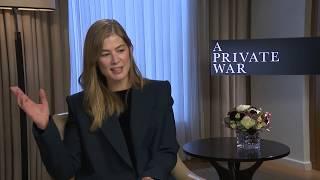 ROSAMUND PIKE Interview: A Private War