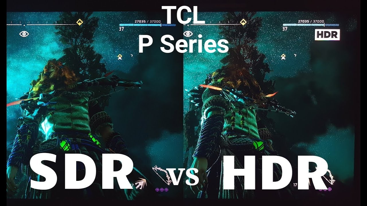 Pubg Hdr Vs No Hdr: HDR Vs SDR On The TCL P Series Part 2