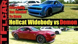 2018 Dodge Demon vs. Challenger Hellcat Widebody: Everything You Wanted to Know!