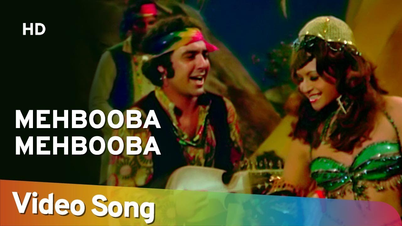 mehbooba mehbooba sholay helen amitabh bachchan bollywood dance hit song youtube
