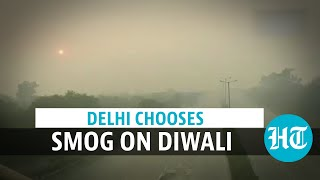 Delhi's air quality takes a hit post Diwali, dips further into 'severe' zone