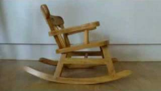 Build A Rocking Chair - Drilling The Angles