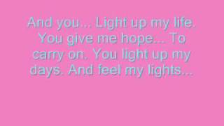 LeAnne Rhymes   You light up my life Lyrics ^^