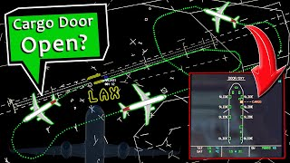 American A321 has OPEN DOOR INDICATIONS out of LAX | Emergency Returns