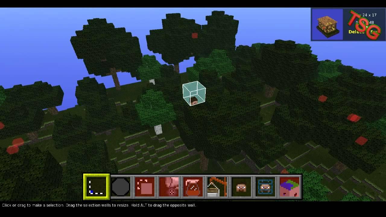 MCEdit Tutorial Blöcke Entfernen Und Häuser Einfügen YouTube - Minecraft fertige hauser einfugen