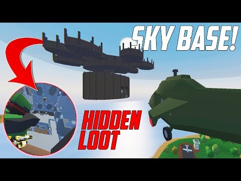 JACKPOT!! 🤑 FOUND THE HIDDEN LOOT ROOM!  -  Unturned Purge Series #4