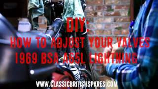 How To Adjust Valves On A BSA Motorcycle | Classic British Spares by