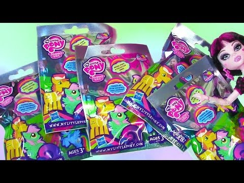 Blind Bag HAUL My Little Pony Wave 9 Opening Toy Review MLP