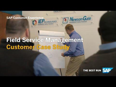 IEP - Field Service Management, Customer Case Study