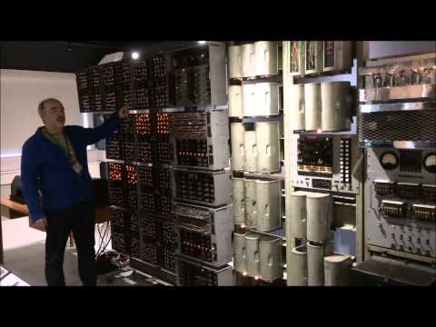 World's Oldest Working Original Digital Computer - Harwell Dekatron WITCH 1951