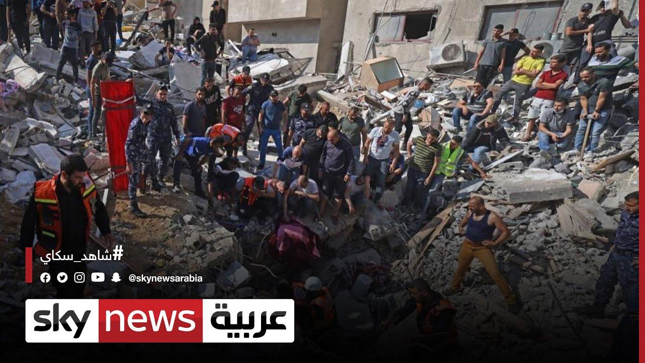 قصف جوي إسرائيلي يدمر مكتب زعيم حركة حماس في غزة  - نشر قبل 3 ساعة