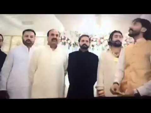 Wedding firing zafar supari pics
