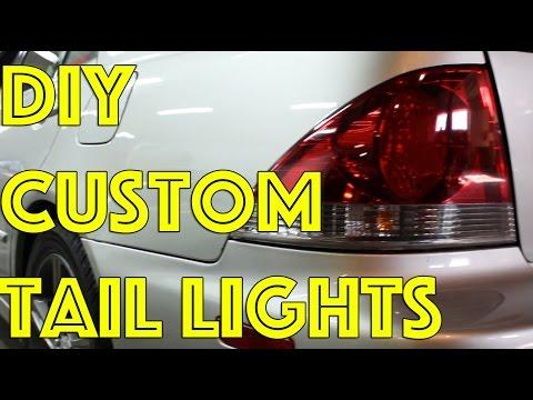 DIY Custom Tail Lights   Tint   VHT Night Shades   is300 is200 altezza