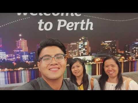 MANILA - SINGAPORE - PERTH WESTERN AUSTRALIA (MY FIRST VLOG😂)
