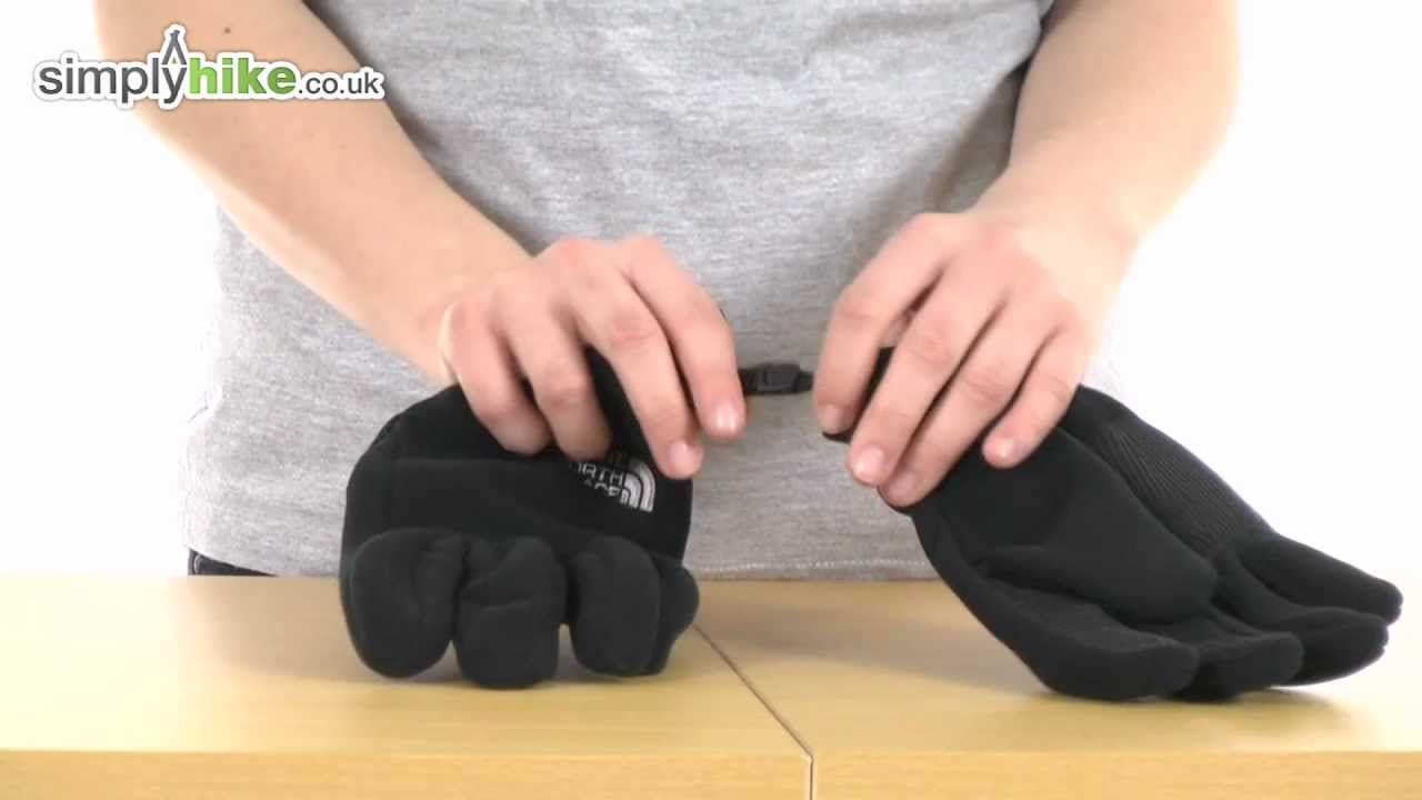 Mens etip gloves - The North Face Mens Pamir Windstopper Glove Www Simplyhike Co Uk
