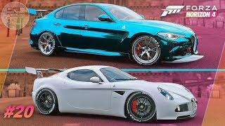 Forza Horizon 4 - ТЮНИНГ ДЛЯ ПОБЕД! Alfa Romeo FE VS Alfa Romeo FE / Прохождение #20