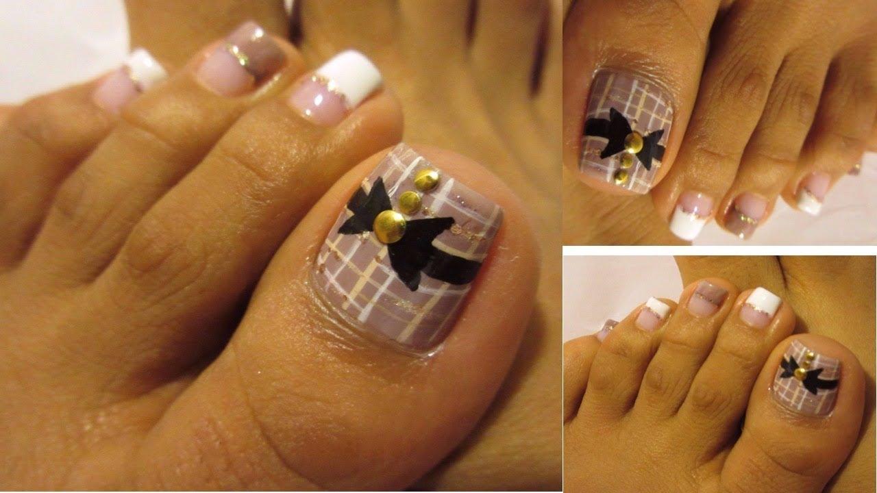 U as de los pies decoradas para oto o pretty fall design - Decorados de unas ...