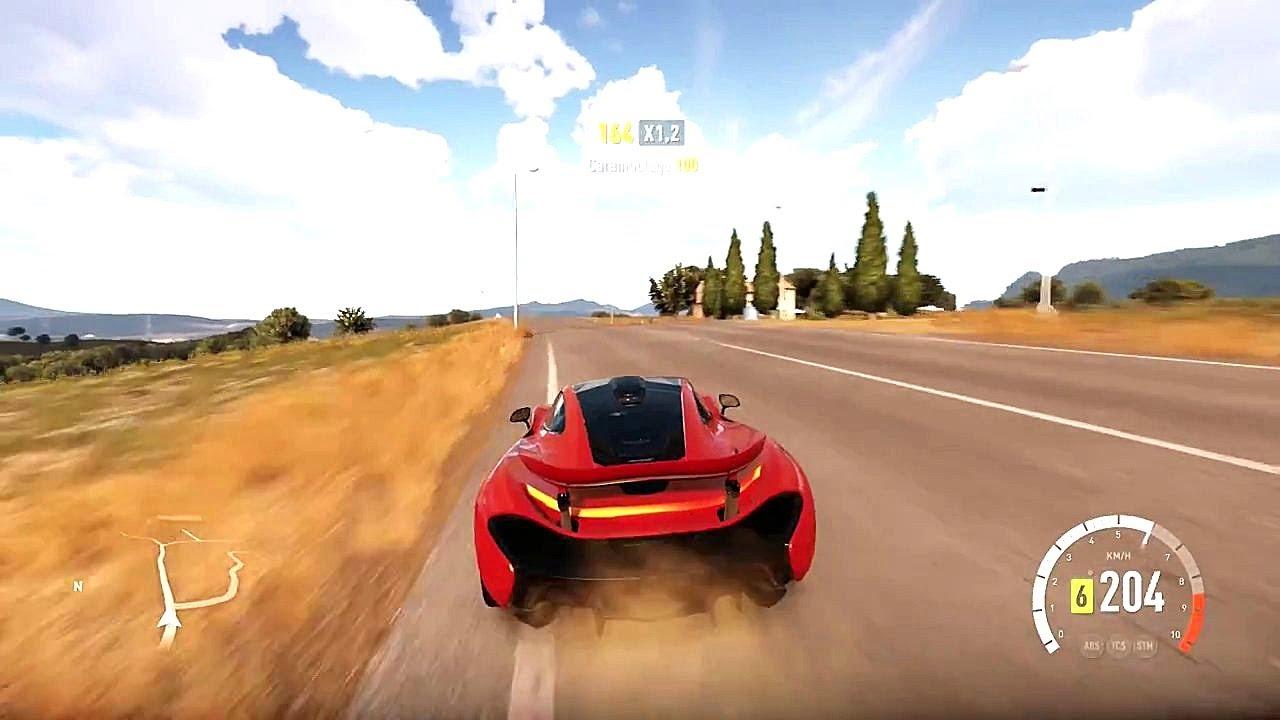 forza horizon 2 mclaren p1 gameplay hd 1080p - youtube