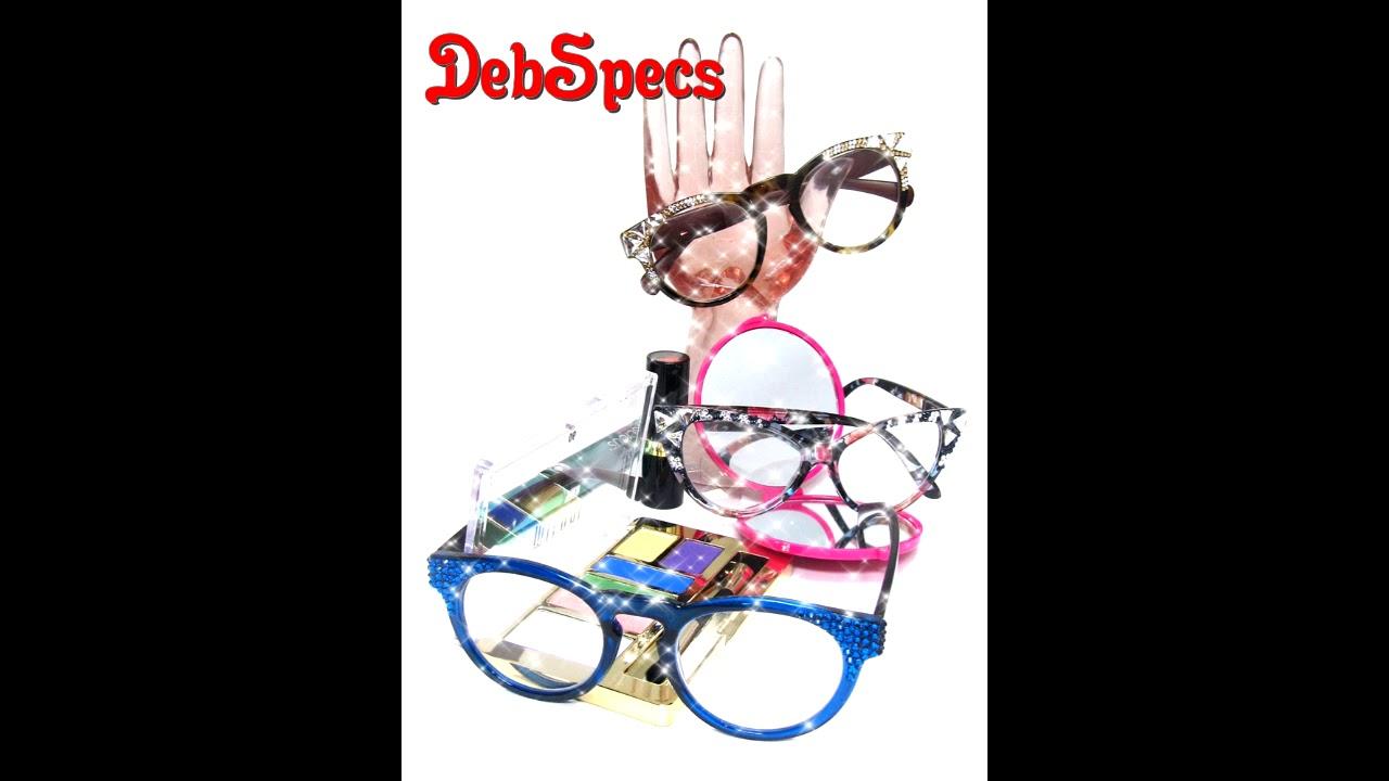 467a36baaff0 DebSpecs Swarovski Reading Glasses - YouTube