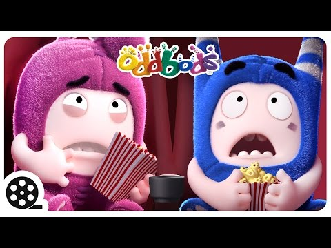Thumbnail: Oddbods: MOVIE JUNKIE | Funny Cartoons For Children | The Oddbods Show