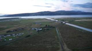 Borth Cambrian Coast Caravan Park Aerial Photos