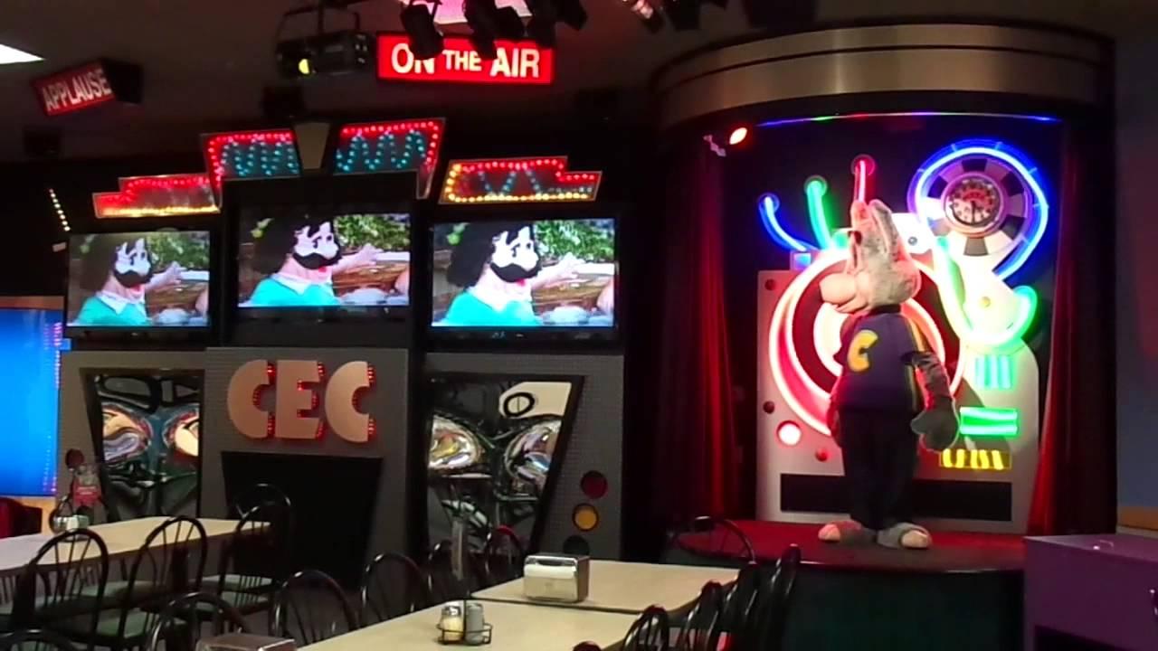 Chuck E Cheese Green Bay April 2014 Segment 3 Youtube
