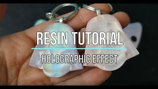 Holographic/Iridescent Resin Tutorial | Resin charms | Watch Me Resin